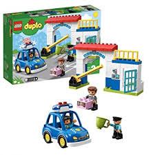 <b>LEGO DUPLO</b> Police Station Building Blocks for Kids (38 Pcs)<b>10902</b>