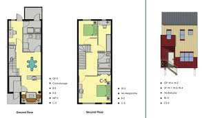 Meridian Newsletter  Fall Winter  Spring Summer    floorplan choices for ground floor and second floor  and exterior design choices