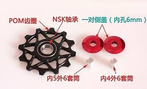 <b>1pcs Bicycle</b> Narrow Wide 10T/12T/14T Jockey Wheel <b>Rear</b> ...