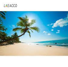 Summer Tropical <b>Sea</b> Beach Palm Tree Aurora Summer Holiday ...