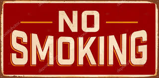 <b>No Smoking Vintage Metal</b> Sign — Stock Vector © RealCallahan ...