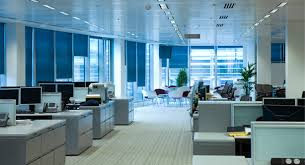 dimming or turning off excessive overhead lighting and employing task lighting or counter level light sources is often a better solution than simply overhead office lighting