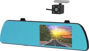 <b>Видеорегистратор</b>-зеркало <b>Ritmix AVR</b>-<b>550 Mirror</b>, серебристый ...