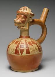 moche decorated ceramics essay heilbrunn timeline of art fox warrior bottle