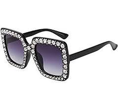 ROYAL GIRL Black Sunglasses For Women ... - Amazon.com
