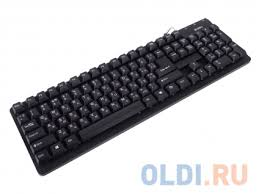 <b>Клавиатура Sven Standard 301</b> Black USB + PS/2 — купить по ...