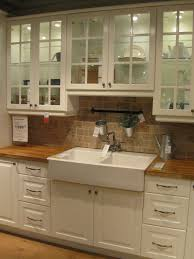 sinks loft counter drop in apron front sink and butcher block counter tops