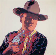 pop art art based on popular culture the art history archive andy warhol john wayne silkscreen 1986