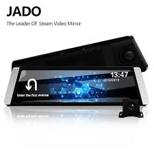 JADO D800 <b>Car</b> Dvr Stream <b>Rearview Mirror Camera</b> LDWS GPS ...