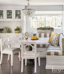 banquette breakfast nook with removable cushions breakfast area furniture