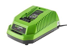 <b>Зарядное устройство Greenworks</b> G-MAX <b>40V G40C</b> - <b>Greenworks</b> ...