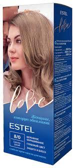 ESTEL Love <b>Стойкая крем-краска для</b> волос — купить по ...