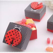Super Promo #c3e62 - <b>10pcs</b> 3D Wing Ladybug Gift Boxes Wedding ...