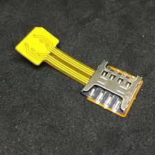 <b>Адаптер Espada</b> для <b>подключения дополнительной</b> micro SIM к ...
