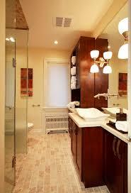 porcelain tile that looks like travertine eclectic style for bathroom with modern bathroom lighting by joanne bathroom contemporary bathroom lighting porcelain