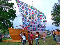 fine art biblio established artists their comprehensive works ilya and emilia kabakov ship of tolerance in havanna photo