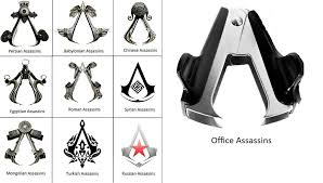 <b>Assassin's Creed emblem</b> for the dreaded Office Assassin