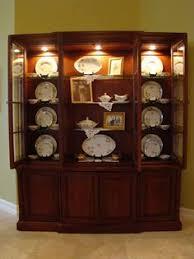 ideas china hutch decor pinterest: how to decorate a china cabinet accessorizing a china cabinet matt and shari