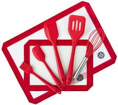 kitchen utensil set silicone utensils stick