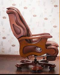 <b>Luxury office chair</b> swivel chair solid wood boss chair leather chair ...