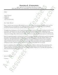 Cover Letter For Education Job Teaching No Experience  Cover