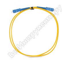 Оптический шнур <b>VCOM SC</b>-<b>SC</b>, UPC, одномодовый, Simplex ...