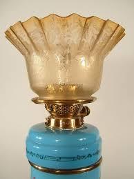 "Late 19th Century English ""Bristol"" Kerosene Table Lamp ... - 9015_1314399795_4"