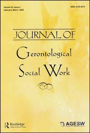 Journal of Gerontological Social Work   SPECIAL SECTION CALL FOR