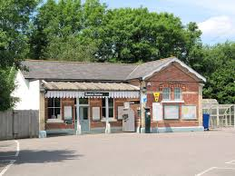 Buxted railway station