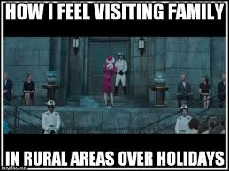 How I Feel Visiting Family In Rural Areas Over Holidays - Imgflip via Relatably.com