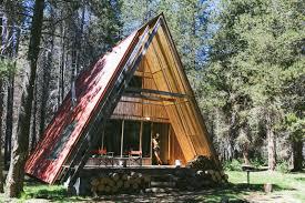 The <b>Red</b> A-<b>Frame Modern</b> Home in Sierra, California on Dwell