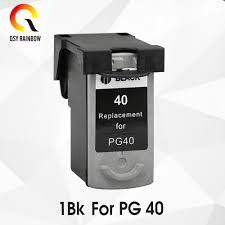 1BK <b>PG-40 CL-41 Compatible Ink</b> Cartridge PG40 For Canon Pixma ...