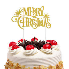 <b>20pc</b>/lot Christmas <b>Cake Toppers Flags</b> Santa Claus New Year Kids ...