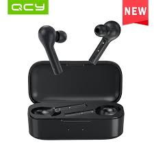2019 <b>QCY T5 TWS</b> BT5.0 IPX5 Wireless Earphones with Two Dual ...