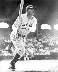 ruth babe baseball hall of fame babe ruth new york yankees batting in chicago s comiskey park bl 1386 86 national baseball hall of fame library