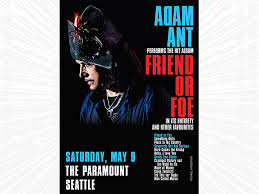 Adam Ant: Friend or Foe - POSTPONED - STG Presents