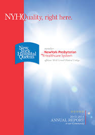 newyork presbyterian queens insight our president s 2013 2014 annual report to the community available on org