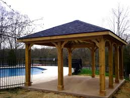 wooden patio covers wood pictures