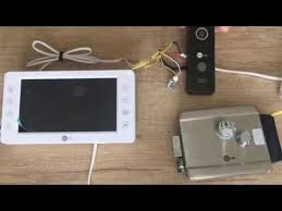 Подключение домофона и замка своими руками - YouTube