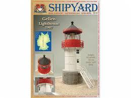 <b>Сборная картонная модель</b> Shipyard маяк Gellen Lighthouse ...