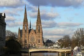 Путеводитель по Франции, путеводитель по Эльзасу, скачать бесплатно, путеводитель по Страсбургу, достопримечательности Страсбурга, церкви Страсбурга, что посмотреть в Страсбурге