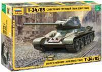 <b>Zvezda</b> Soviet Medium Tank T-34/85 mod. of 1944 (1:35) (3687 ...