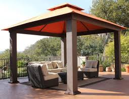 image of good canvas patio shade covers also a set of wicker outdoor sofa on very brown covers outdoor patio