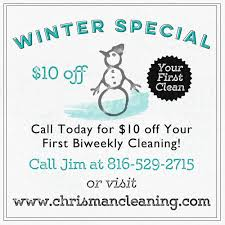 news chrisman cleaning house cleaning and office cleaning in check out our winter special 10 off your first biweekly cleaning we provide residential house cleaning and commercial office cleaning in
