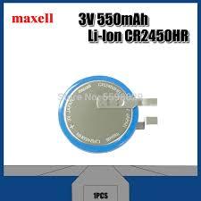 <b>Maxell</b> Original CR2450HR <b>High</b> Temperature Battery 3V Car Tire ...