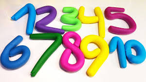 Learn Numbers from <b>1 2 3 4</b> 5 6 7 8 9 10 with Play Doh for ...