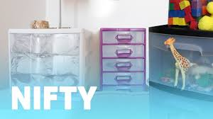 7 Easy Ways To Upgrade Plastic <b>Drawers</b> - YouTube