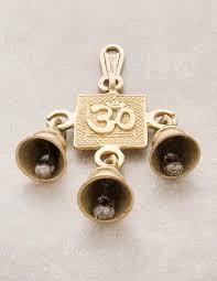 Om Blessing <b>Solid Brass</b> Bells - <b>FREE SHIPPING</b>