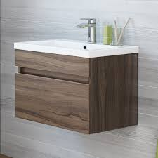 bathroom vanity uk company countertop combination: mm trent walnut effect basin cabinet wall hung