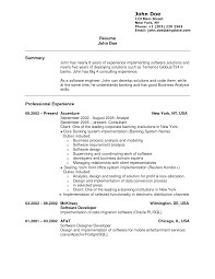 investment banking resume tips example investment banking careerperfect com employee termination letter template how to write a resume work experience